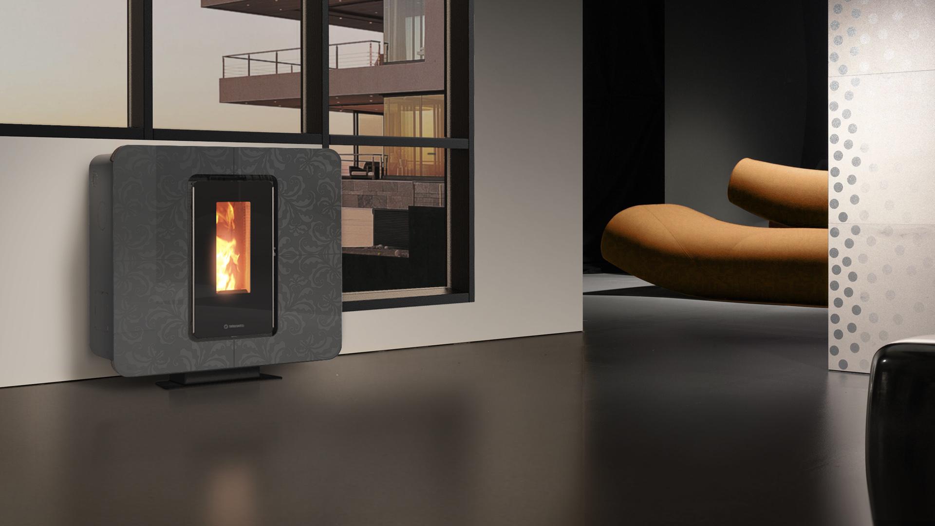po le canalisable slimquadro 9 eco nrj. Black Bedroom Furniture Sets. Home Design Ideas